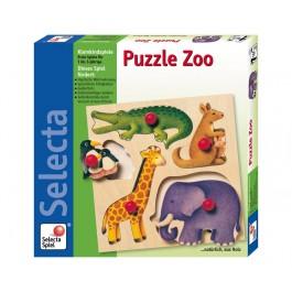 Selecta Puzzle Zoo Verpackung
