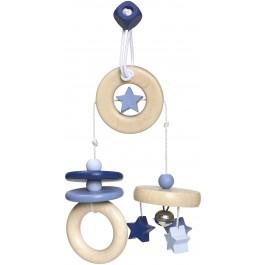 Selecta bellybutton Mini-Trapez Sternchenspaß blau - Holzspielzeug ProfiSelecta bellybutton Mini-Trapez Sternchenspaß blau - Holzspielzeug Profi