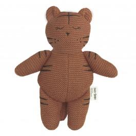 Baby Bello Tobey the Tiger Kuscheltier Sugar Almond - Holzspielzeug Profi