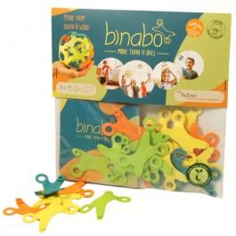 TicToys binabo bunt: Packung mit 24 Chips - Holzspielzeug Profi