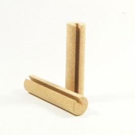 TicToys die.Rollen (2er Set) - Holzspielzeug Profi