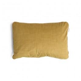 Wobbel Kissen Pillow XL Ocher: Vorderseite  - Holzspielzeug Profi
