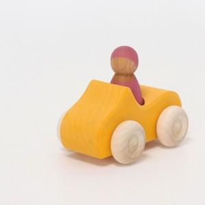 GRIMM´S Kleines Cabrio in gelb - Holzspielzeug Profi