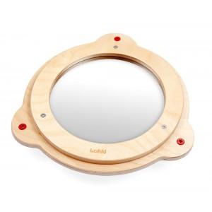 Lokki Wandspiel Kleiner Spiegel ( 26 cm) - Holzspielzeug Profi