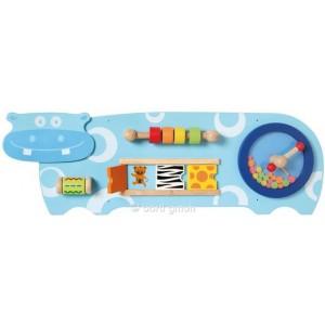 I´m Toy Wandspiel Hippo - Holzspielzeug Profi