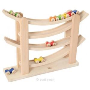 Rollbahn Roller-Coaster - Holzspielzeuge Profi