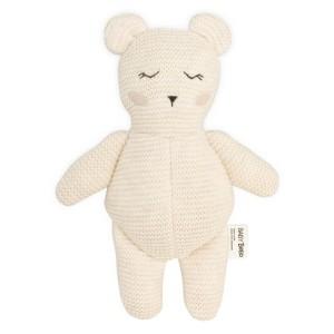 Baby Bello Bobby the Polar Bear Kuscheltier - Holzspielzeug Profi