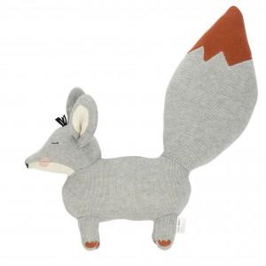 Baby Bello Finny the Fennex Fox als Stofftier: Ginger Grey - Holzspielzeug Profi