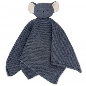 Baby Bello Kiki the Koala Kuscheltuch: Stone Blue - Holzspielzeug Profi