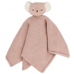 Baby Bello Kiki the Koala Kuscheltuch: Rose Glow - Holzspielzeug Profi