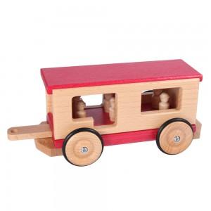 Beck Personenwagen für die Holzeisenbahn - Holzspielzeug Profi