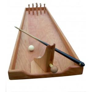 Tischkegelbahn von Holz-Bi-Ba-Butze - Holzspielzeug Profi