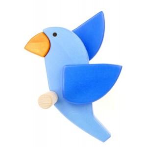BAJO Garderobe Vogel Bluebird links - Holzspielzeug Profi