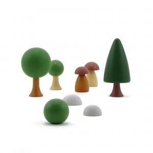 CLICQUES Garden Set - Holzspielzeug Profi