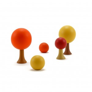 CLICQUES Autumn Garden mini Set - Holzspielzeug Profi