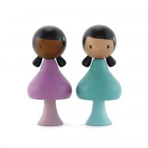 CLICQUES Lola & Nuri - Holzspielzeug Profi