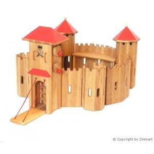 Drewart Ritterburg: Mittelgroße Festung  - Holzspielzeug Profi