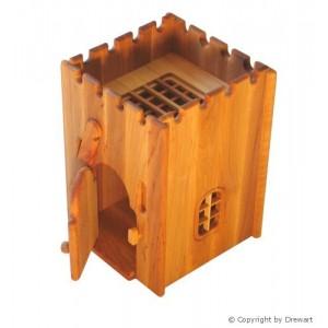 Drewart Gefängnis mit geöffnetem Tor - Holzspielzeug Profi