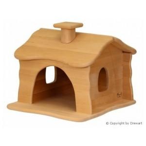 Drewart Kleines Zwergenhaus natur - Holzspielzeug Profi