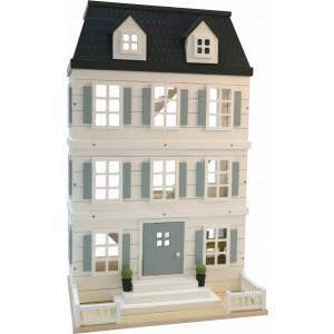 EverEarth Puppenhaus pastell LifestyleCollection -  Holzspielzeug Profi