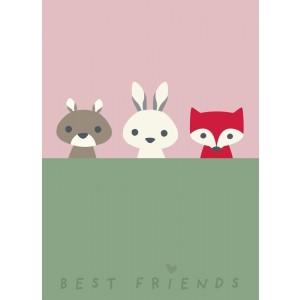 FRANCK & FISCHER Poster Best Friends - Holzspielzeug Profi
