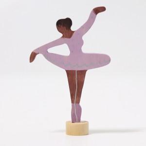 GRIMM´S Stecker Ballerina Fliederduft - Holzspielzeug Profi