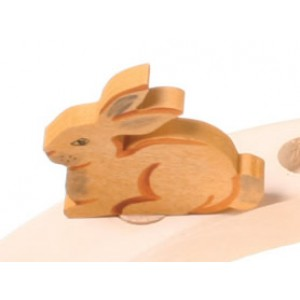 GRIMM´S Stecker Hase sitzend - Holzspielzeug Profi