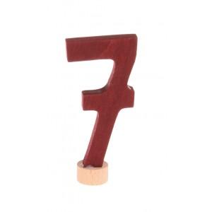 GRIMM´S Zahlenstecker 7 neu - Holzspielzeug Profi
