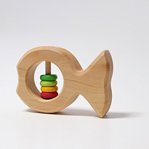 GRIMM´S Rasselfisch Joschi - Holzspielzeug Profi