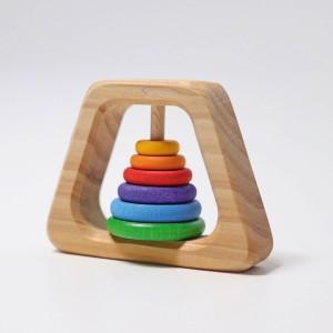 GRIMM´S Pyramiden Rassel - Holzspielzeug Profi