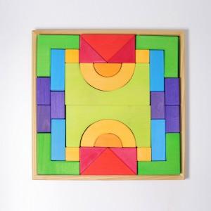 GRIMM´S Grundbaukasten 1- Holzspielzeug Profi