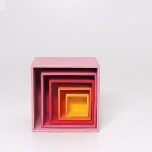 GRIMM´S Kleiner Kistensatz Lollipop - Holzspielzeug Profi