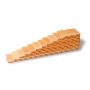 GRIMM´S Bauplatten Natur - Holzspielzeug Profi