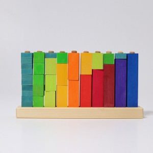 GRIMM´S Steckspiel Zahlen - Holzspielzeug Profi