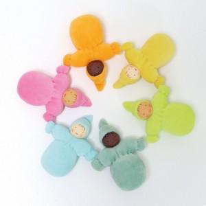 GRIMM´S Taschenzwerge Pastell - Holzspielzeug Profi