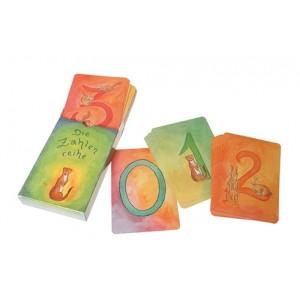 GRIMM´S Kartenspiel Zahelnreihe - Holzspielzeug Profi