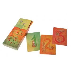 GRIMM´S Kartenspiel Zahlenreihe Ergänzungsset - Holzspielzeug Profi