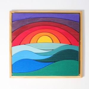 Grimm´s Legespiel Landschaftspuzzle - Holzspielzeug Profi