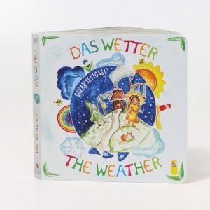 """GRIMM´S Bilderbuch Pappebuch """"Das Wetter"""" - Holzspielzeug Profi"""