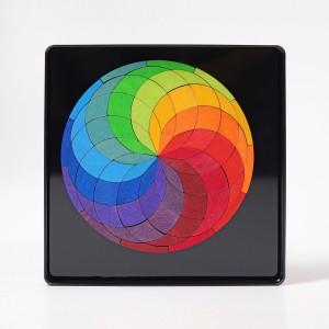 GRIMM´S Magnetspiel Farbspirale - Holzspielzeug Profi