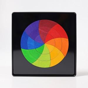 GRIMM´S Magnetspiel Farbkreis Goethe - Holzspielzeug Profi