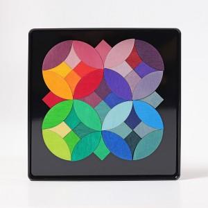 GRIMM´S Magnetspiel Kreise - Holzspielzeug Profi