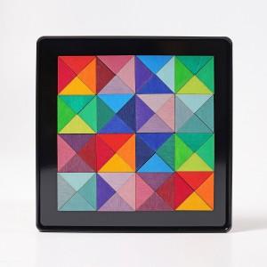 GRIMM´S Magnetspiel Dreiecke - Holzspielzeug Profi