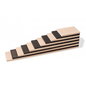 GRIMM´S Bauplatten monochrom - Holzspielzeug Profi