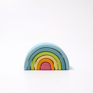 GRIMM´S Kleiner Regenbogen Bogenspiel pastell - Holzspielzeug Profi