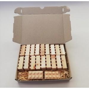 Holznoppi Noppensteine aus Zirbenholz SET 1 - Holzspielzeug Profi