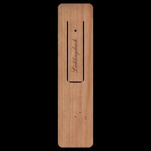 Holzpost® Lesezeichen Lieblingsbuch - Holzspielzeug Profi