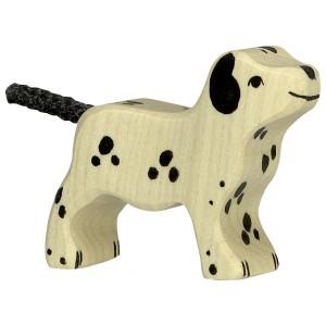 HOLZTIGER Kleiner Dalmatiner - Holzspielzeug Profi