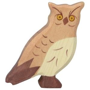 Holztiger Uhu - Holzspielzeug Profi