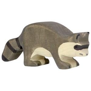 Holztiger Waschbär - Holzspielzeug Profi